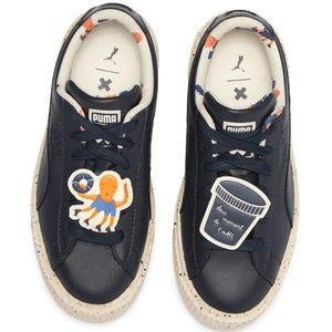 PUMA X TC Platform Speckle Sneaker